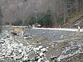 Route 2, Retaining Wall Construction, November 16, 2011 (6351639486).jpg