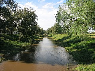 Caney Creek (Matagorda Bay) River in Texas, US