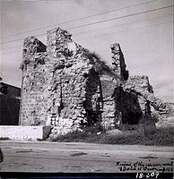 Ruins of Bastion Tower from time of Daher al Omar. Acre, Old City (SRF 5; 284).II.jpg