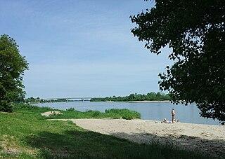 The Nemunas River Delta at Rusne village