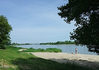 Nemuno delta prie Rusnės.Foto:Nikater
