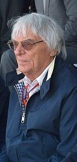 Bernie Ecclestone British business magnate