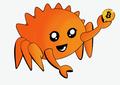 Rust Mascot Ferris Bitcoin Transparent.png