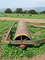 Rusted Paddock Roller, Rhymney Valley Ridgeway Path - geograph.org.uk - 899555.jpg