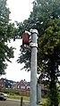 Rusty can on a public pole, Winschoten (2019) 01.jpg