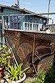 Rusty piano frame at Riverside Moorings, West Sussex, England 2.jpg