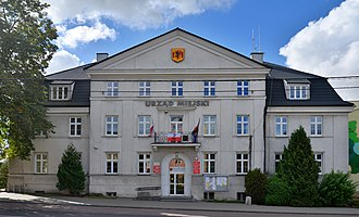 Rypin - Town hall, local seat of authorities