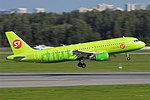S7 Airlines, VQ-BET, Airbus A320-214 (16430225796) (3).jpg