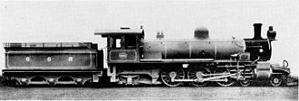 1907 in South Africa - SAR Class Experimental 1