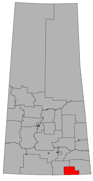 Estevan (electoral district) - Image: SK 2016 Estevan