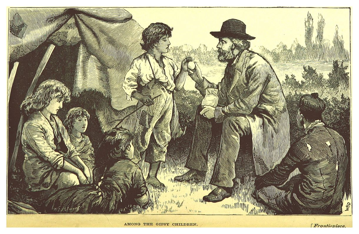 SMITH(1880) p012 Among the Gipsy Children.jpg