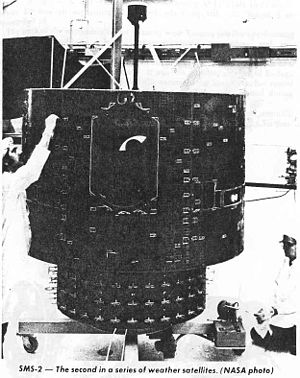 Synchronous Meteorological Satellite - SMS-2