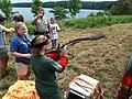 SM Ospreycam 2013-07-09 (005) intervention Smith Mountain Lake State Park (9262150123).jpg