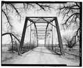SOUTHWEST PORTAL, VIEW TO NORTHEAST - Merrill Bridge, Spanning Milk River at Snake Creek-Merrill Road, Harlem, Blaine County, MT HAER MT-123-10.tif