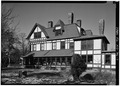 SOUTHWEST SIDE, FROM THE SOUTH - Emlen Physick House, 1048 Washington Street, Cape May, Cape May County, NJ HABS NJ,5-CAPMA,68-7.tif