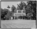 SOUTH (FRONT) FACADE - Wildercliff, Morton Road, Rhinebeck, Dutchess County, NY HABS NY,14-RHINB.V,3-3.tif