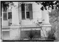 SOUTH EAST CORNER OF FRONT PORCH - Thornhill Plantation, County Road 19, Forkland, Greene County, AL HABS ALA,32-WATSO,1-3.tif