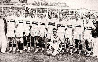 São Paulo FC - The championship team of 1931
