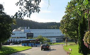 Hospital of Southern Norway - Image: SSK hovedinngang
