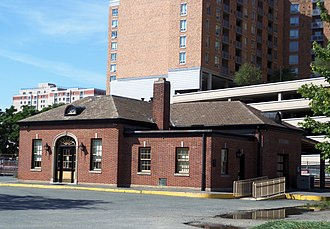 Silver Spring station (Baltimore and Ohio Railroad) - Silver Spring station in 2012