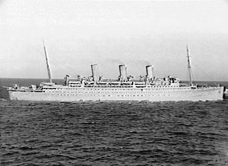 Operation Gauntlet - SS Empress of Canada