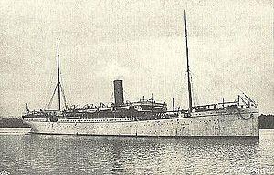 SS Nubia (1895) - SS Nubia, 1895