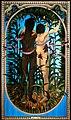 STAN MUSQUER, Peintre de la Guadeloupe 1992-2021, Eve & Adam, huile, or et enluminures sur toile de coton.jpg