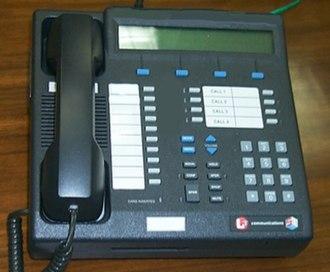 Secure telephone - A Secure Terminal Equipment desk set.