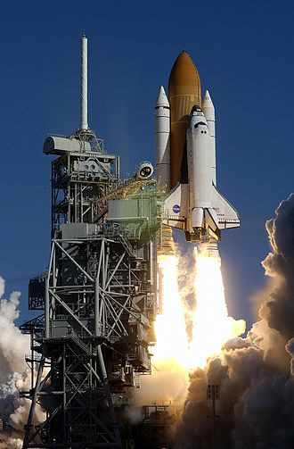 2003 in spaceflight - Image: STS 107 launch 2