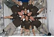 STS-124 crew in Kibo