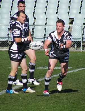 Western Suburbs Magpies - Wests in action in 2008