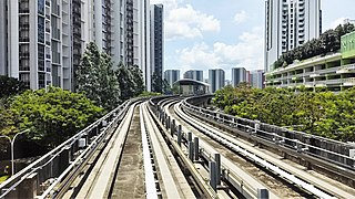 Layar LRT station LRT station in Singapore