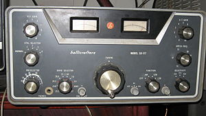 Hallicrafters SX-117 - Image: SX 117 Front and in case