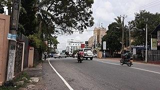 Kohuwala Suburb in Western Province, Sri Lanka
