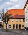 """Saalfeld Friedensstraße 6 Fachwerkgebäude Bestandteil des Denkmalensembles """"Stadtkern Saalfeld-Saale"""".jpg"""