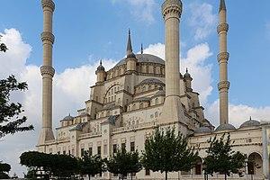 Sabancı Central Mosque - Image: Sabancı Merkez Camii 01