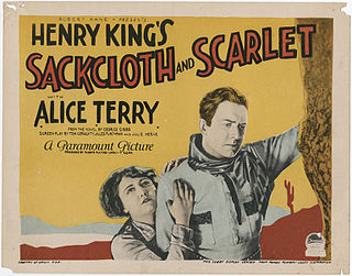 <i>Sackcloth and Scarlet</i> 1925 film