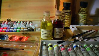 Safflower - Safflower oil as a medium for oil colours