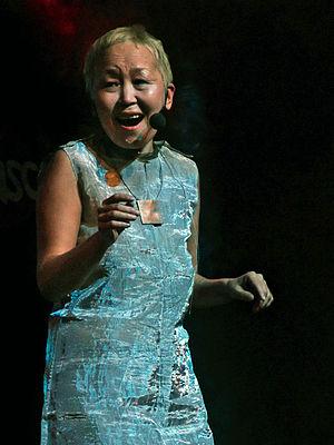 Sainkho Namtchylak - Sainkho Namtchylak at Moers Festival 2004, Germany