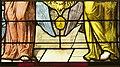 Saint-Chapelle de Vincennes - Baie 1 - Deux anges présentant les armes de France (détail) (bgw17 0805).jpg