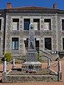 Saint-Cyr-les-Vignes - Monument aux morts et mairie.jpg