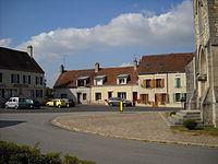 Saint-Hilaire-sur-Erre - Main square.JPG