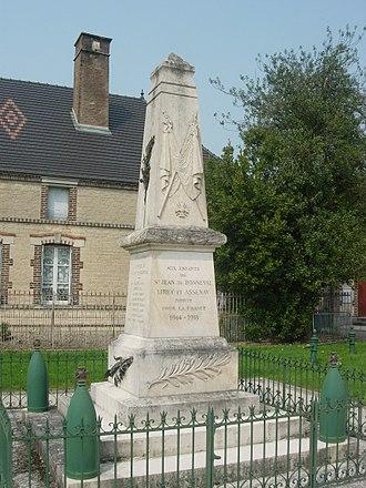 Assenay - War memorial