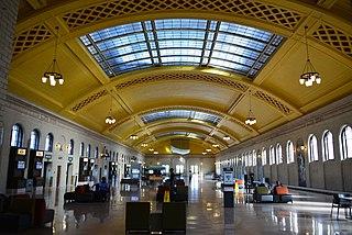 Saint Paul Union Depot train station in Saint Paul, Minnesota
