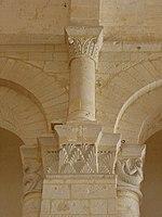 Saintes (17) Basilique Saint-Eutrope Intérieur Chapiteau 20.JPG