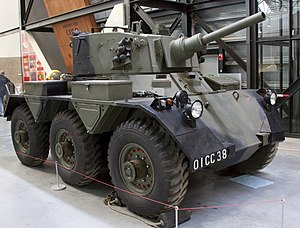 Alvis Saladin - Alvis Saladin at the Royal Air Force Museum Cosford