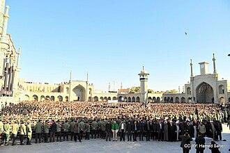 Hussein-Ali Montazeri - Salat Meyyet Funeral of Ayatollah Montazeri