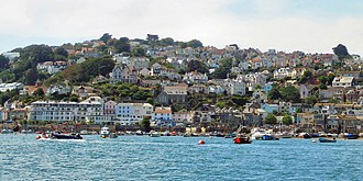 Salcombe - Image: Salcombewaterfront