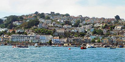 How to get to Salcombe with public transport- About the place
