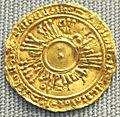 Salerno, tari di gisulfo I sul conio di un dinar fatimide, 946-977 ca.JPG